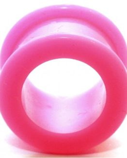 Růžový silikonový tunel