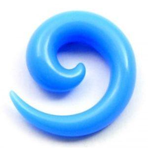 modrá spirála do ucha